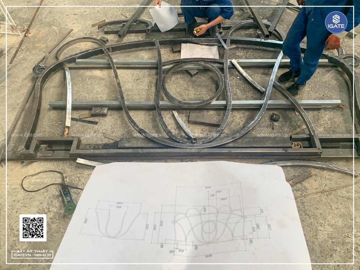 Mái kính nghệ thuật iGATE 409.2